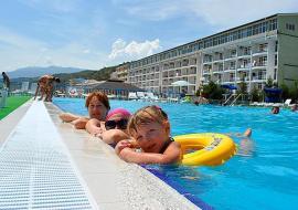 Да Васко (Da Vasko) - Крым Семидворье  отель  первая линия   с бассейном
