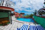 номер  Сакура   Крым VIP отдых в Алуште  рядом с морем и  бассейн , завтрак