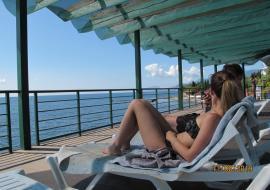 Эко отель Алые Паруса  отдых  с Детьми - Крым Сатера  гостиница