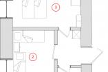 2−3 (4-мест двухком разд ком) Гостевой дом Ливадия