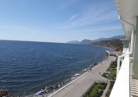 Крым Семидворье  студия   вид на море