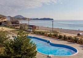 Апартамент 260 м.кв 4 спальни - Крым  Вилла  Коктебель  рядом с морем бассейн