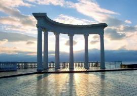 Фотографии Алушты набережная, зима,  лето, природа